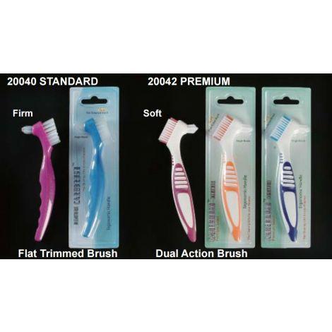 Denture Brushes (Plasdent)