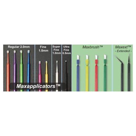 MAXMICRO Applicators-2.0mm, Regular, (100pcs/box) Color: 4-Green