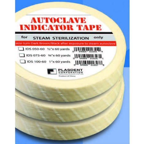 Autoclave Indicator Tape (Plasdent)