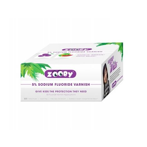 Zooby® 5% Sodium Fluoride Varnish (Denticator)