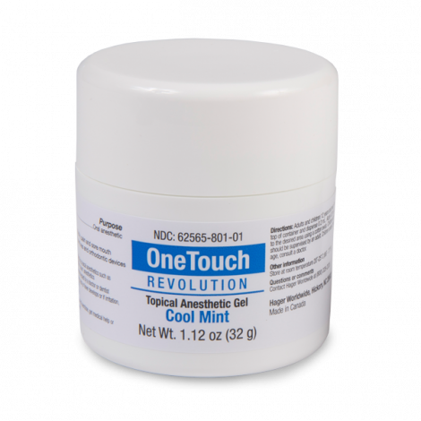 One Touch Revolution Topical Anesthetic Gel (Oral) (Hager)