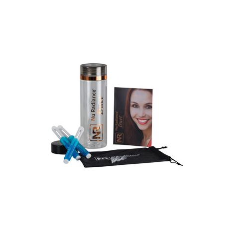 Nu Radiance Duet Patient Kit 18% carbamide peroxide. Take Home Teeth Whitening Gel for patients