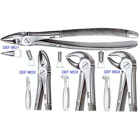 Extracting Forceps 'MEAD PATTERN' (Miltex)