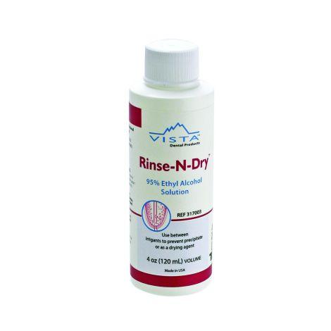 Rinse-n-Dry™ - 95% Ethyl Alcohol Solution (Vista)