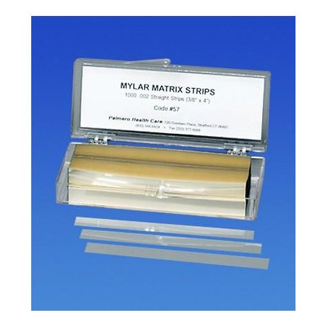 Mylar Matrix Strips Straight 1000/Box