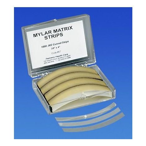 Mylar Matrix Strips Curved 1000/Box