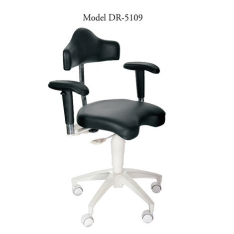 MIRAGE Dr. Stool w/Armrests (TPC)