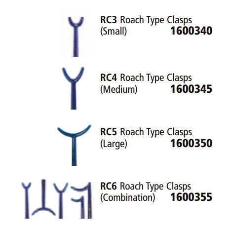 Roach Type Clasps (Keystone)