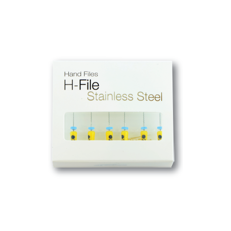 Stainless Steel H Files (Hand), Size # 25, Length 31 mm