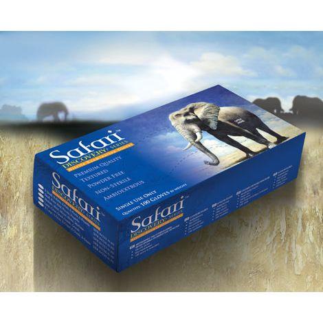 SAFARI® Powder Free Textured Nitrile Exam Gloves (Mexpo)