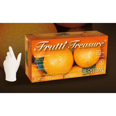 FRUTTI TREASURE® Powder Free Textured Latex Exam Gloves (Mexpo)