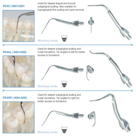 BioSonic Suvi Piezo Tips - Scaling (Coltene/Whaledent)