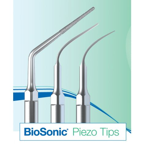 BioSonic Piezo Tips S-Select Series (Satelec-Style) General Scaling (Coltene)