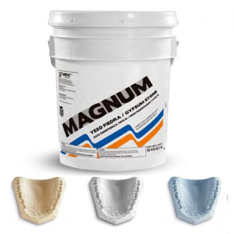 Magnum Super Stone Normal, White, Box with 22lb