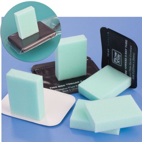 STICKY BITES Self-Adhesive Foam Bite Block (Flow Dental)