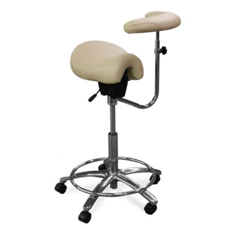Contoured Assistant Stool Model 2045-R (Galaxy)