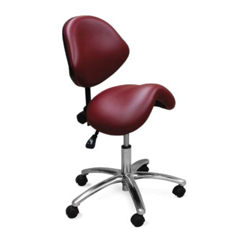 Ergonomic Doctor's Saddle Stool Model 2030 (Galaxy)