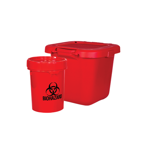 Bio-Hazard Sharps Disposal (Solmetex)