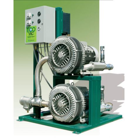 Eco-Vac Dry Vacuum Large Facility Systems (TechWest)