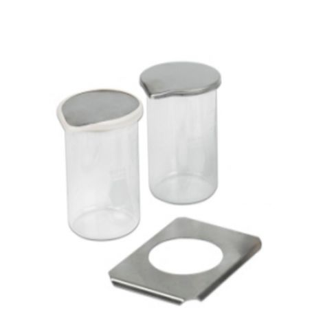 Positioning Covers & Glass Beakers (L&R)
