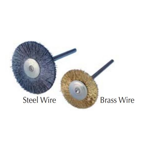 "3/4"" Steel Wire HP Rotary Brush, Pkg. of 12"