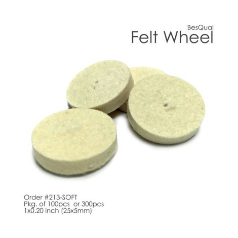 Felt Wheels (Meta Dental)