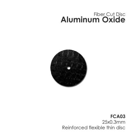 Aluminum Oxide - Fiber Disc (Unmounted) (Meta Dental)