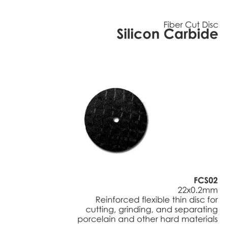 Silicon Carbide Fiber Disc (Unmounted) (Meta Dental)