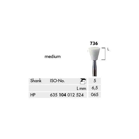 Inverted Cone Abrasives for Model Casting White Medium (Meisinger)
