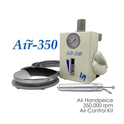 Air Handpiece 350R with Regulator & Foot Pedal (Meta Dental)