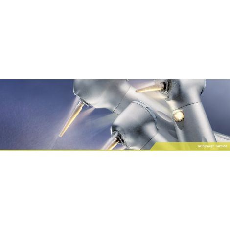 TwinPower Turbine High Speed Handpiece High Torque with Light (J. Morita)