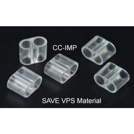 VPS Material Cartridges Connectors (Plasdent)