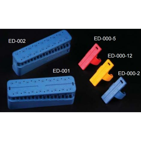 Endo Ring Rulers & Endo Measuring Blocks (Plasdent)