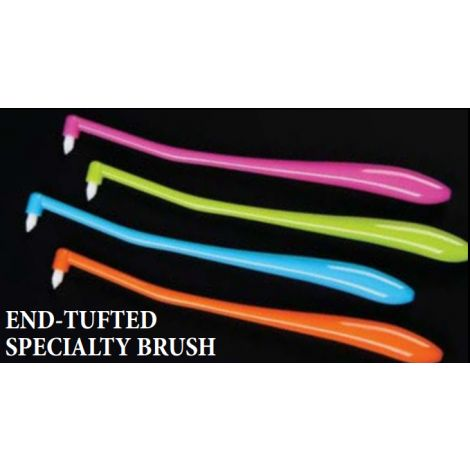 End-Tufted Specialty Brush (Plasdent)