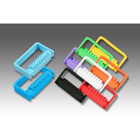 FG Bur Blocks II, 16 FG Burs (Plasdent)