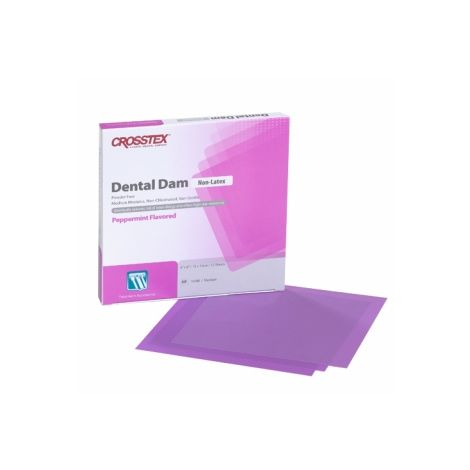 Dental Dam, Non-Latex (Crosstex)