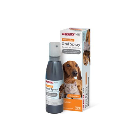 Animal Oral Health Tooth Spray & Gel (Crosstex)