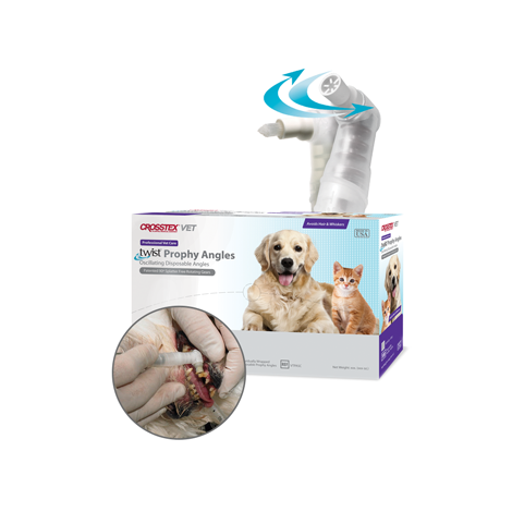 Pet Twist® Prophy Angle (Crosstex)