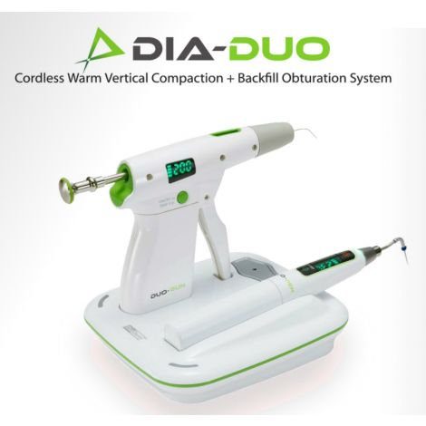 Dia-Duo Cordless Warm Vertical Compaction+Backfill Obturation System (DiaDent)