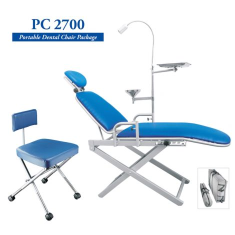 PC2700 Portable Dental Chair Package (TPC)