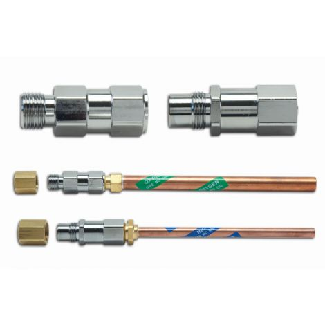 Central System Flowmeter Pre-Installation Kit Components (Accutron)