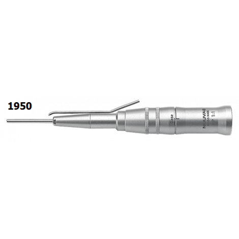 Surgical handpiece 1:1, FG shank 2.35 mm, L= 70 mm
