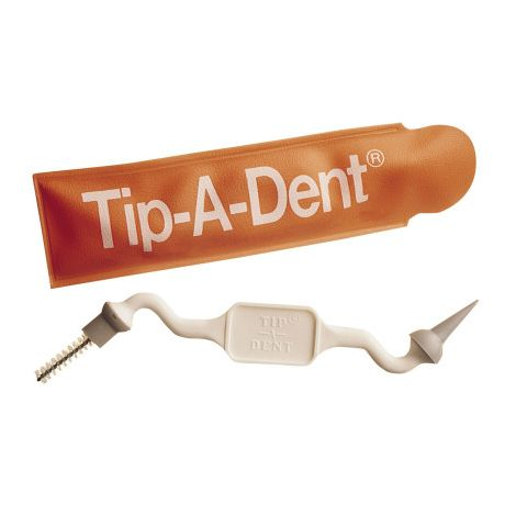 Tip-A-Dent Brush and Gum Stimulator Pk/36