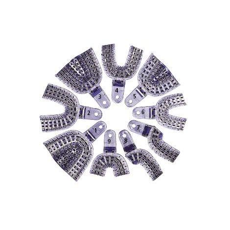 PRESIDENT Impression Trays Transparent (Coltene/Whaledent)