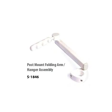 Post Mount Folding Arm / Hanger Assembly (Parts Warehouse)