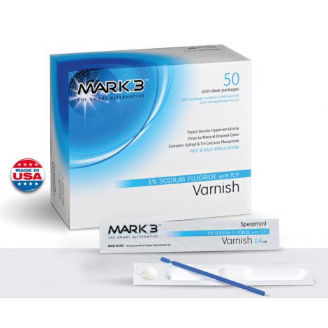 Varnish 5% Sodium Fluoride With TCP (MARK3)