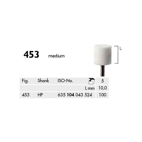 Cylinder Abrasives Corundum White Medium (Meisinger)