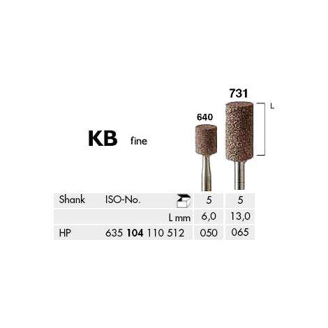 Cylinder Abrasives C + B Brown Fine (Meisinger)