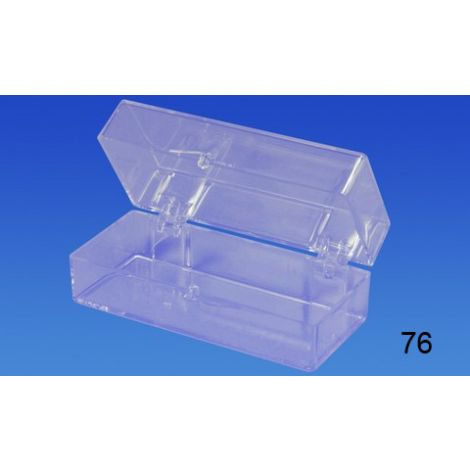 "Clear Hinged Box (2 7/8"" x 1 3/16"" x 1"")"