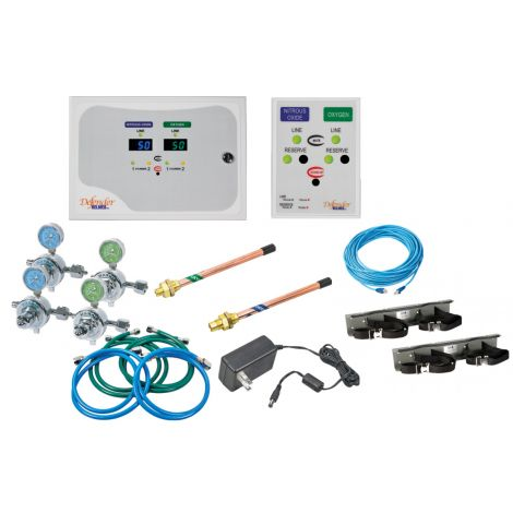Defender Automatic Changeover Manifold System with Wall Alarm & Pre Install Kit